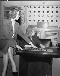 At the 1951 Festival of Britain, the NIMROD computer -- a digital computer designed specifically to play Nim -- made its debut.