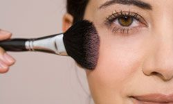 Image Gallery: Makeup Tips Your collection of makeup tools should include a powder brush. See pictures of makeup tips.