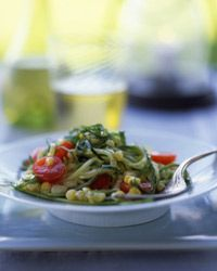 Other variations of this salad include corn, tomato and zucchini.