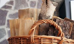 Technically a biofuel, wood can heat your home, boil water and even allow you to cook a meal -- all without electricity.