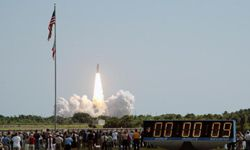 Space Exploration Image Gallery The Space Shuttle Discovery lifts off from launch pad 39B on July 26, 2005, in Cape Canaveral, Fla. See more space exploration pictures.