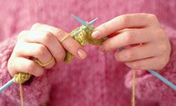 Ravelry connects avid knitters with other avid knitters.