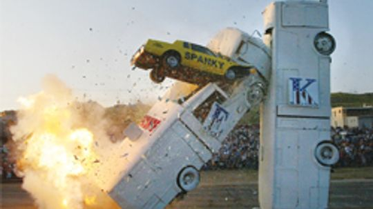 5 Scariest Stunt Car Feats