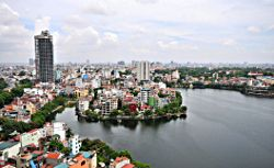 Vietnam is growing in fame as a place for tourists to cycle. The most popular trip starts near Hanoi.