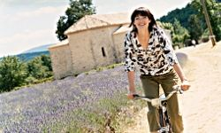 A cycling trip in Provence is a good way to see the beautiful French countryside.