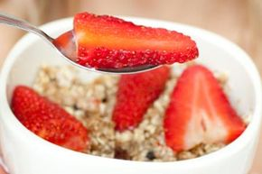 Who knew eating healthy foods could improve your looks, too? Strawberries are a great source of vitamin C.