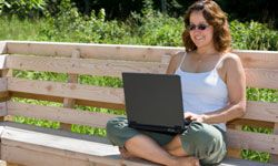Online social networking is a great way to keep up with your adult child.