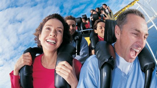 What makes a roller coaster a 'mega coaster'?