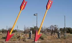 The Twin Arrows are just one of the many quirky sights you can see along Historic Route 66. Perhaps someday those arrows will end up in the Smithsonian, too.