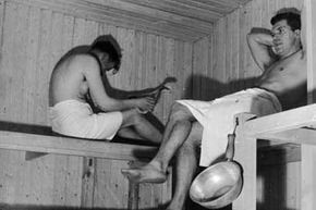 How can a sauna get any crazier than this? Read on to find out. See more getting beautiful skin pictures.