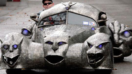5 Strangest Vehicles Ever Made
