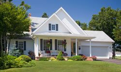 You can't go wrong with white. In fact, a real estate survey found that nearly 40 percent of buyers questioned liked a house with a white exterior.
