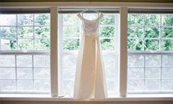 Image Gallery: Plus-size Brides This lightweight A-line gown is perfect for an outdoor warm-weather wedding.