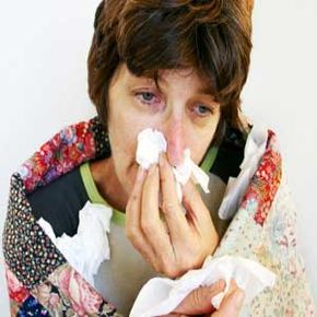 Sniffles, coughing and sneezing are signs immune system is in battle. See more staying healthy pictures.