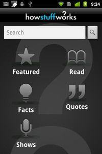 Welcome to the HowStuffWorks Android app.