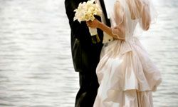 It's hard to plan a beach wedding from your landlocked locale six states away.