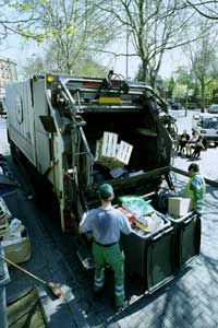 Individual Americans produce more than 4 pounds (1.8 kilograms) of trash daily.