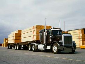 Huge loads call for huge trucks.