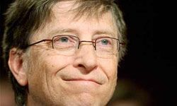 Mr. Gates made a lot of money selling software, but we're looking for entrepreneurs who started online. See more pictures of Bill Gates.
