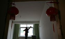 Getting the house ready for the Lunar New Year in China