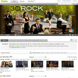 If you want to watch the last couple episodes of your favorite show free of charge, try Hulu. If you want to watch entire seasons, you can also pay to upgrade to Hulu Plus.