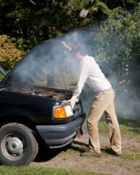 It should go without saying that you need to let your engine cool down thoroughly before digging your hands in there.