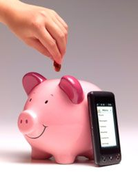 Paying in advance for your kids' phone usage will likely save you money.