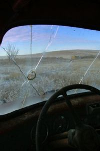 """Imagine having to write """"accidentally shot my own truck"""" on insurance forms!"""