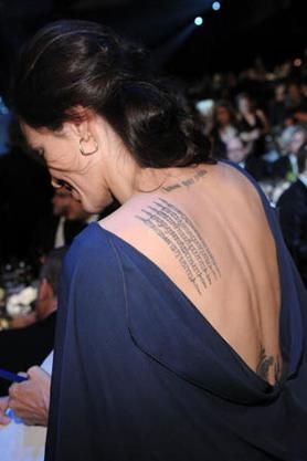 Celebrities often get tattoos that have to removed or covered up later.