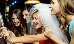 Not all brides like the typical Vegas bachelorette shenanigans. See pictures of laid-back brides.