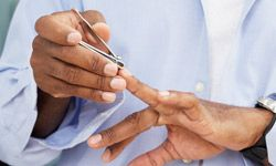 Keep your nails neat and watch out for changes. If your nails start looking different, you may need to see a doctor.