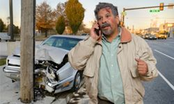 It's important to call 911 and report the accident.
