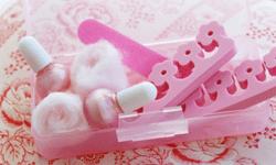 Bringing your own nail kit is both sanitary and stylish.
