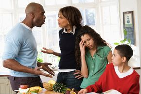 All families have their arguments and squabbles, but here we'll look at how family fights impact kids.