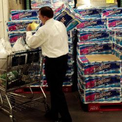 If you don't have room to store 36 rolls of toilet paper, don't buy them.