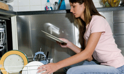 Although it doesn't happen to everyone, dishwasher stains are a common problem.