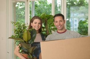 What kinds of things should you consider when moving plants to a new home?