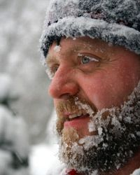 If you spend time outdoors during the winter, your skin loses a lot of its moisture to cold air.