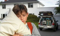 Pack pillows, games and snacks to keep your kids comfortable and happy.