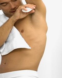 The underarm is home to legions of potentially harmful bacteria.