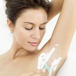 Be careful. The products you use on your underarms can harm the skin there.