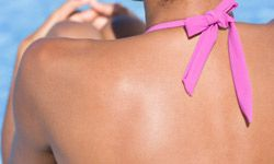 If you're spending lots of time outside, sunscreen is a must.
