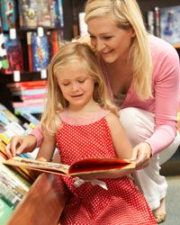 Read with your child, and choose books that appeal to her specific interests -- it will help the stories come to life.