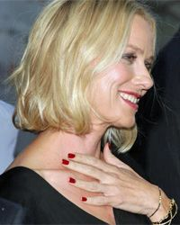 Hey Naomi, remember to put a clear base coat under that polish. Yellow nails won't look good on the red carpet.