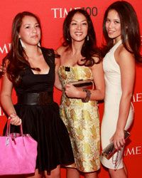 """Amy """"Tiger Mom"""" Chua and her daughters, Sophia and Louisa."""