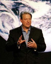 Former Vice President Al Gore teamed up with Richard Branson to stage the Virgin Earth Challenge.