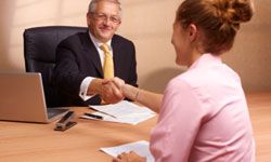 You can't shake the hand of the bank manager over the Internet, but you still apply for a loan online.