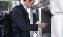 Use only those ATM machines that are well-lit, and preferably ones attached to banks or financial institutions.