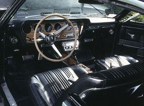 © The interior of the 1967 Pontiac GTO was topflight in almost every way.