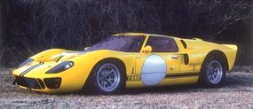 """The next leap forward for the Ford GT project was the Mark II. Its powerplant was the mighty 427-cid """"side-oiler"""" V-8 that could crank out approximately 500 bhp in race trim."""